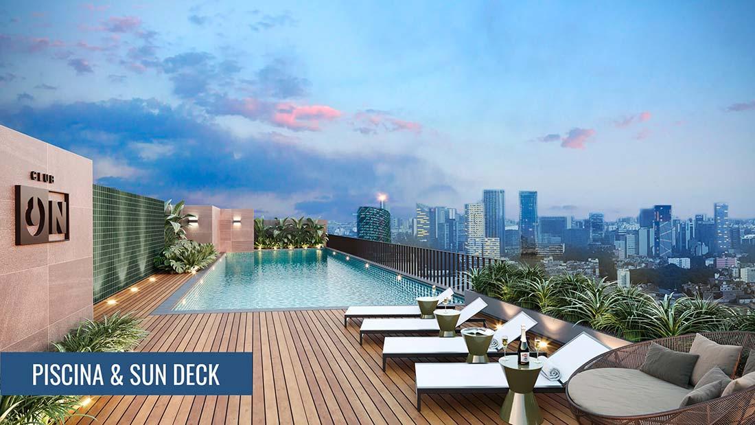 on-apartments-area-comun-piscina